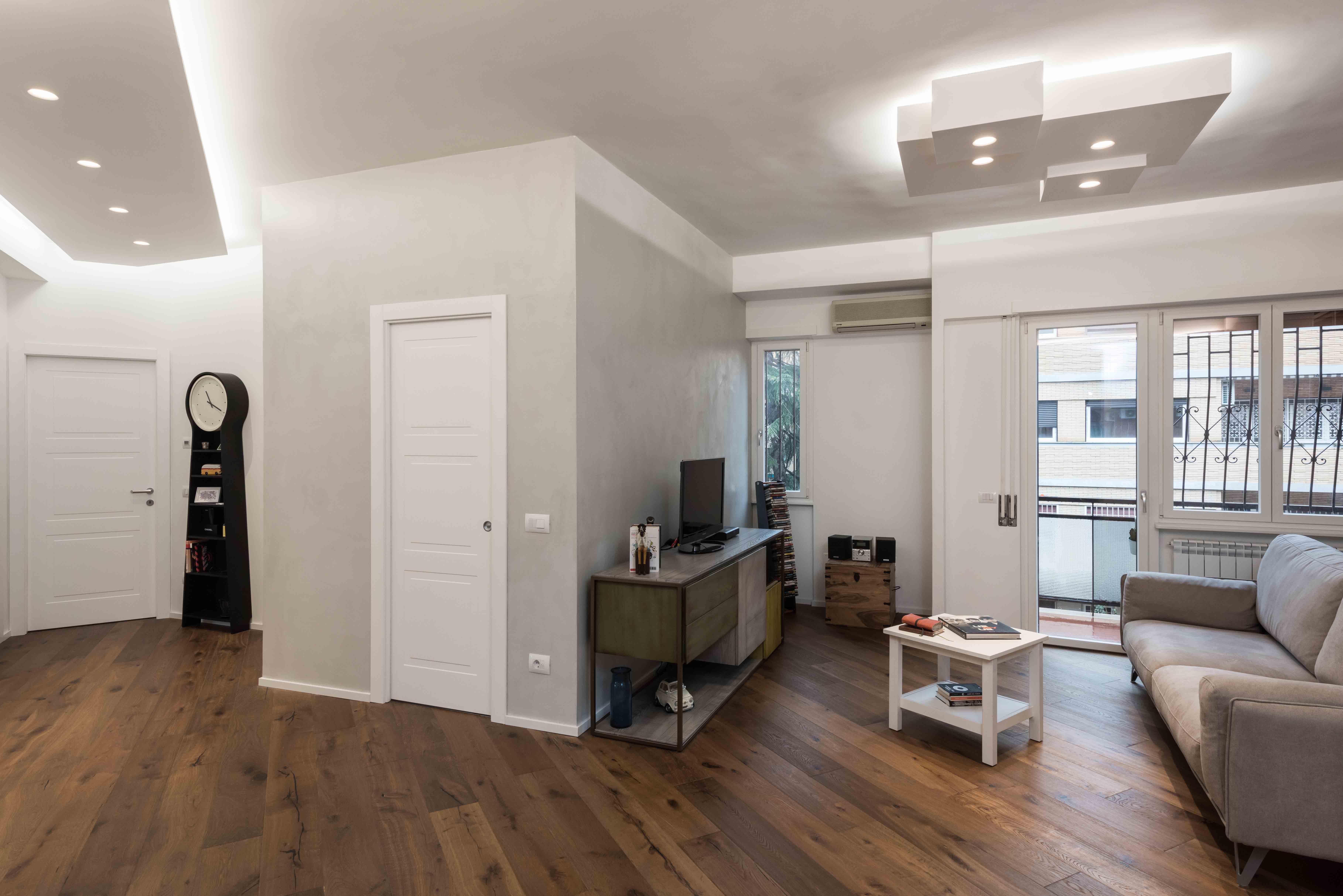 Ristrutturazione appartamento zona conca d oro roma for Ristrutturazione appartamento roma